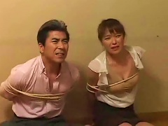 Japanese Mother And Daughter Made To Play