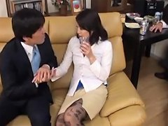 Japanese Wife Fucked By Husbands Co Worker