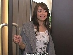 Hot Looking Japanese Wife Maki Hojo Pleases Both Her Hubby And His Friend