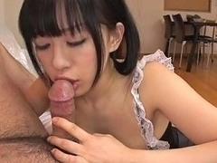 Horny Asian Housewife Pleases Her Freak With Solid Rim Job And Stout Deep Throat