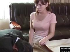 Beautiful Asian Milf Fucked By Pervert Boss
