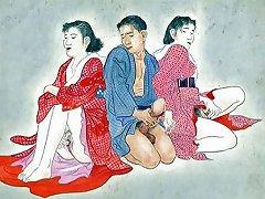 Japanese Vintage Art Ukiyoe Free Japanese Art Porn Video 39